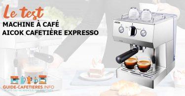 Aicok Cafetière Expresso