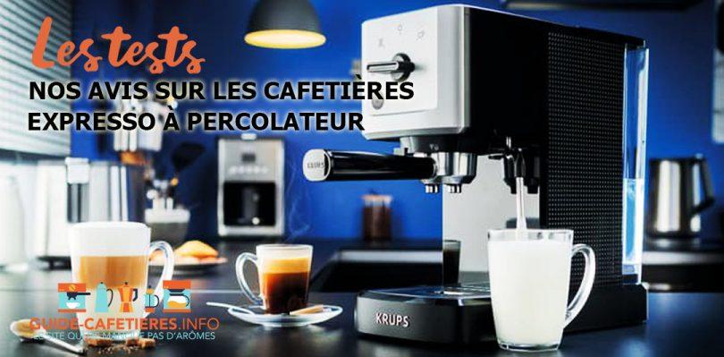 Cafetières expresso à percolateur