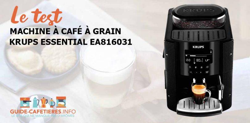 Krups Essential EA816031