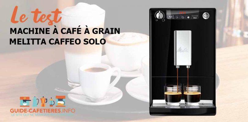 Melitta machine à café automatique Caffeo Solo
