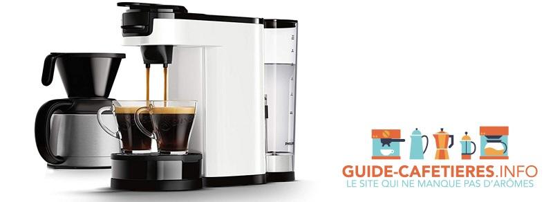 machine à café philips senseo switch