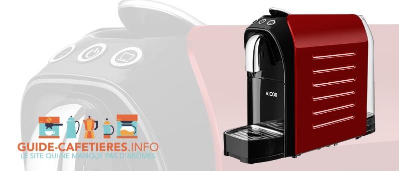 Aicok Machine à Café Espresso